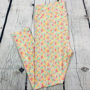 Lularoe Tall & Curvy Pastel Leggings